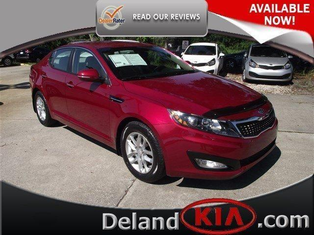 2012 kia optima 4dr car lx for sale in de land florida. Black Bedroom Furniture Sets. Home Design Ideas