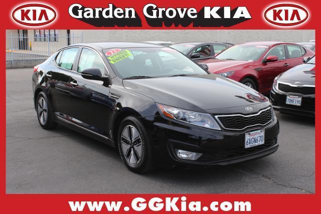 2012 Kia Optima Hybrid Ex Garden Grove Ca For Sale In