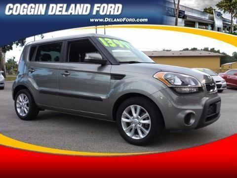 2012 KIA SOUL 4 DOOR HATCHBACK