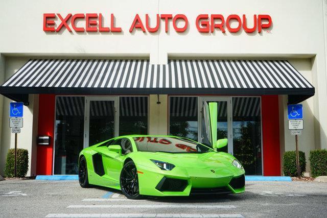 2012 Lamborghini Aventador LP 700-4 LP 700-4 2dr Coupe