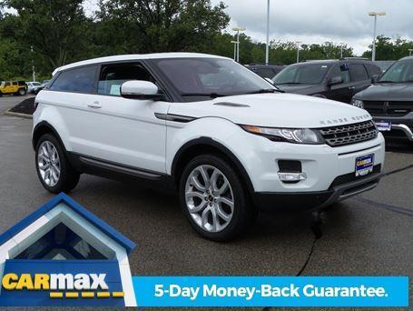 2012 land rover range rover evoque coupe pure awd pure 2dr suv for sale in cincinnati ohio. Black Bedroom Furniture Sets. Home Design Ideas