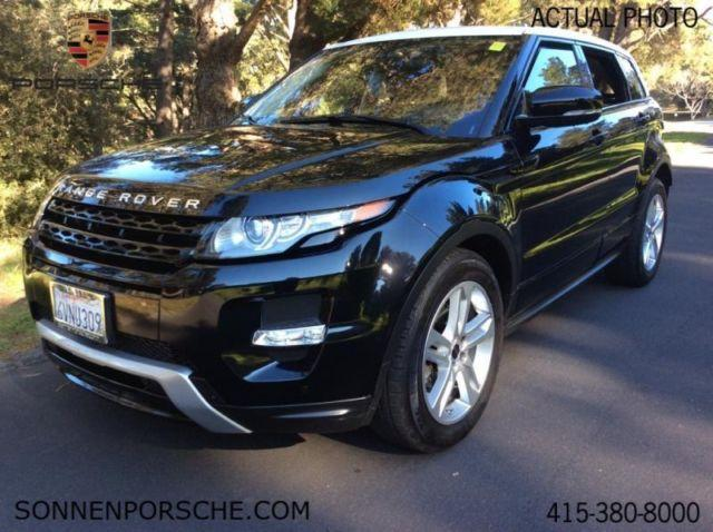 2012 land rover range rover evoque pure plus for sale in mill valley california classified. Black Bedroom Furniture Sets. Home Design Ideas