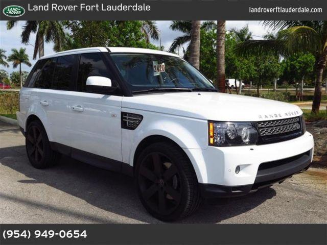 2012 land rover range rover sport for sale in pompano beach florida classified. Black Bedroom Furniture Sets. Home Design Ideas