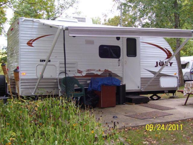 Living In A Travel Trailer On Private Property