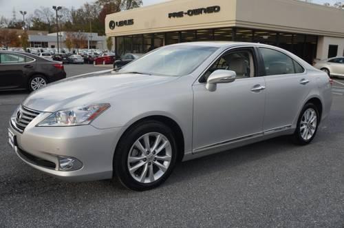 Owings Mills Lexus >> 2012 Lexus ES 350 4dr Car w/Navigation & Backup Camera for Sale in Owings Mills, Maryland ...
