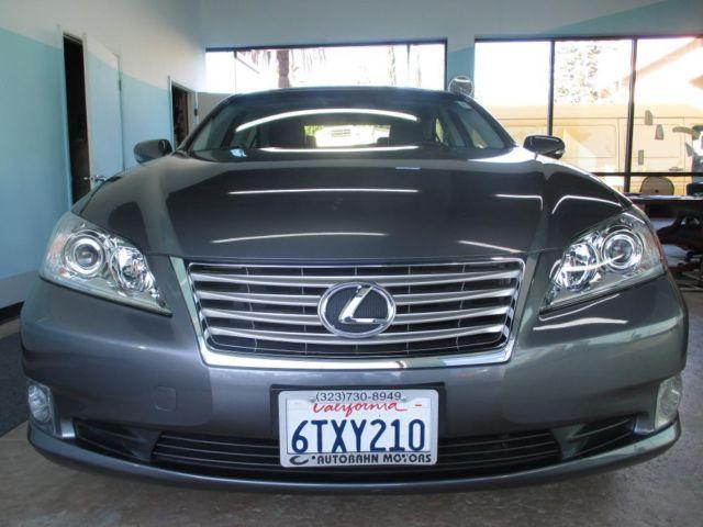 2012 lexus es 350 for sale in los angeles california classified. Black Bedroom Furniture Sets. Home Design Ideas