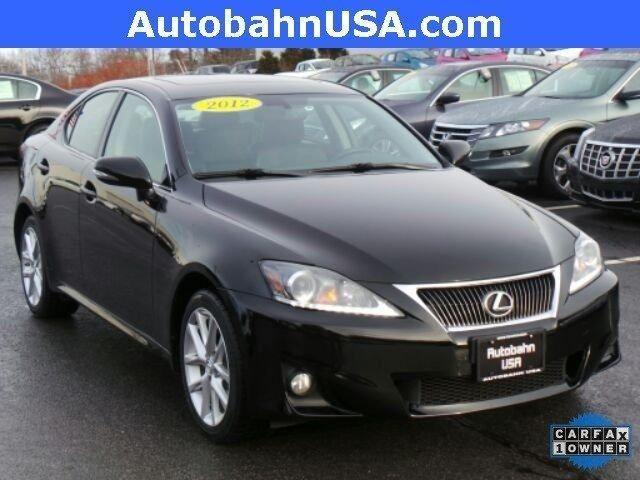 2012 lexus is 250 250 for sale in westborough massachusetts classified. Black Bedroom Furniture Sets. Home Design Ideas