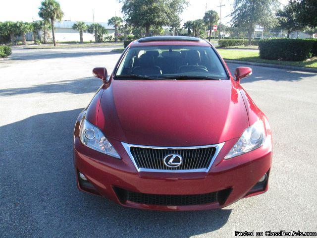 2012 Lexus IS 250 250 RWD