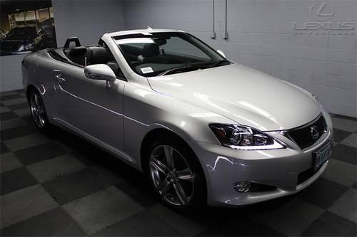 2012 lexus is 2d convertible 250 c for sale in portland. Black Bedroom Furniture Sets. Home Design Ideas