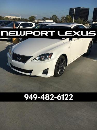 2012 Lexus IS 350 Base 4dr Sedan
