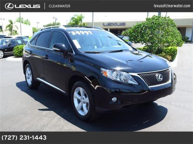 2012 lexus rx 350 for sale in clearwater florida. Black Bedroom Furniture Sets. Home Design Ideas