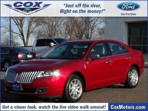 2012 lincoln mkz 4 door sedan for sale in alden wisconsin for Cox motors new richmond wi