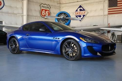 2012 maserati granturismo coupe mc stradale for sale in addison texas classified. Black Bedroom Furniture Sets. Home Design Ideas