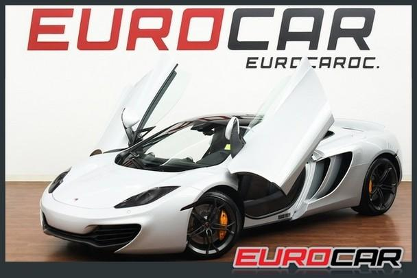2012 MCLAREN MP4-12C COUPE 2013 UPGRADE STEALTH PACK