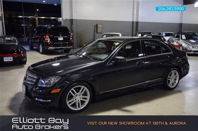 2012 mercedes benz c class awd c300 luxury 4matic 4dr sedan for sale in seattle washington. Black Bedroom Furniture Sets. Home Design Ideas