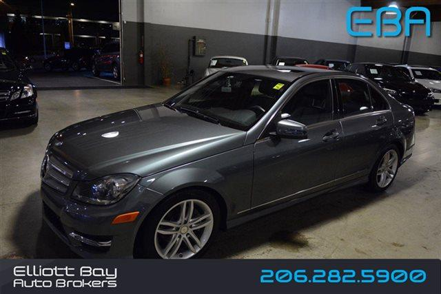 2012 mercedes benz c class awd c300 luxury 4matic 4dr for Mercedes benz for sale seattle
