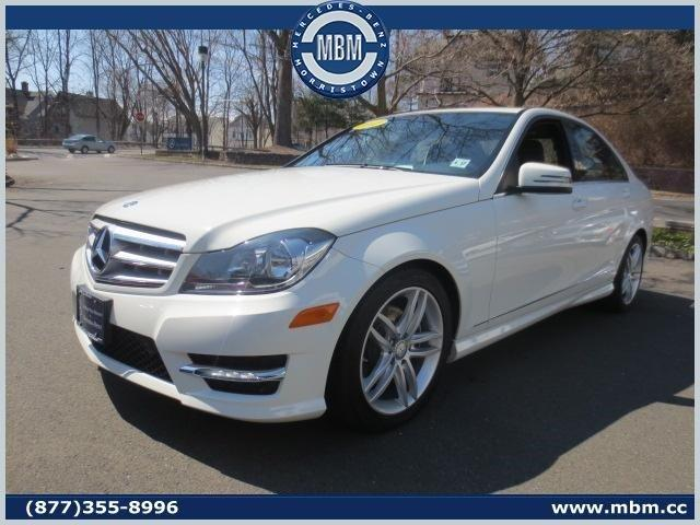 2012 mercedes benz c class awd c300 luxury 4matic 4dr for Mercedes benz morristown