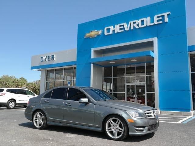 2012 mercedes benz c class c 250 luxury c 250 luxury 4dr for Mercedes benz ft pierce