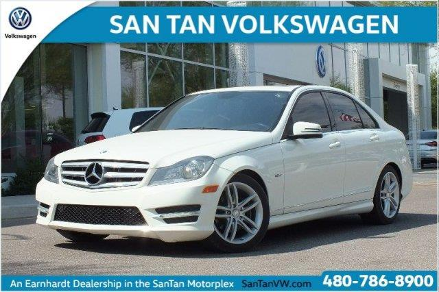2012 Mercedes-Benz C-Class C 250 Luxury C 250 Luxury