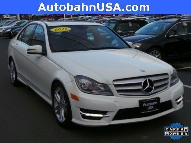 2012 mercedes benz c class c300 for sale in westborough for Mercedes benz dealers in boston area