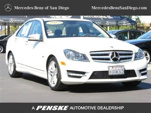 2012 mercedes benz c class sedan 4dr sdn c250 luxury rwd for Mercedes benz kearny mesa