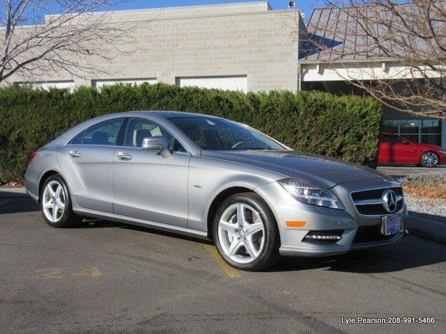 2012 mercedes benz cls cls550 4matic awd cls550 4matic 4dr sedan for sale in boise idaho. Black Bedroom Furniture Sets. Home Design Ideas