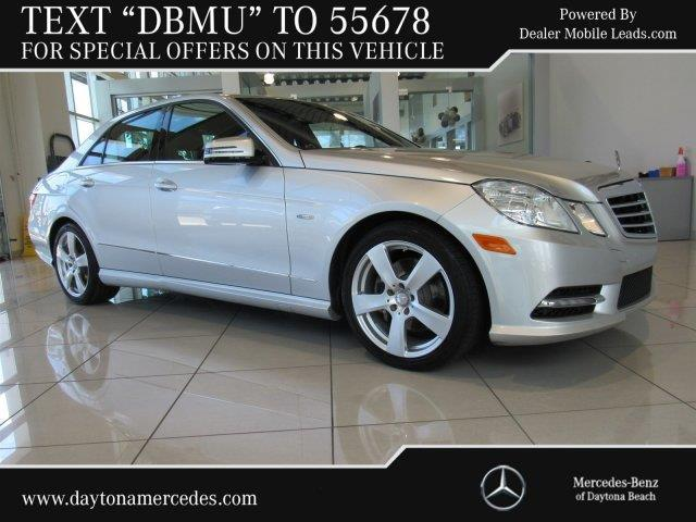 2012 mercedes benz e class e 350 luxury 4matic awd e 350 for Mercedes benz daytona beach