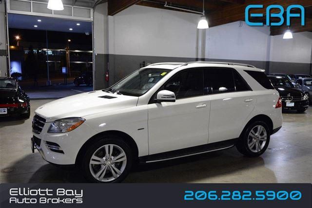 2012 Mercedes Benz M Class Awd Ml350 4matic 4dr Suv For