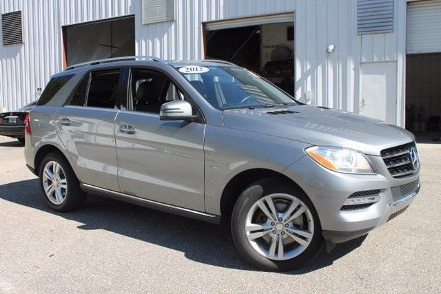 2012 Mercedes Benz M Class Ml 350 Awd Ml 350 4matic 4dr