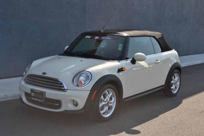 2012 MINI Cooper Convertible Base 2dr Convertible