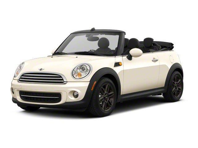 2012 MINI Cooper Convertible Base Base 2dr Convertible
