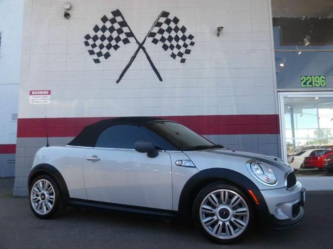 2012 MINI Cooper Roadster S S 2dr Convertible