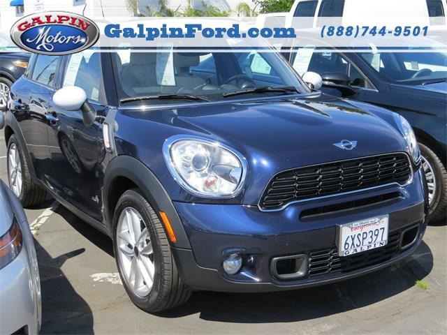 2012 Mini Cooper S Countryman Awd S All4 4dr Crossover For