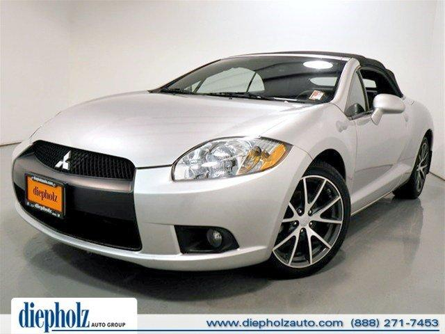 2012 mitsubishi eclipse gs sport 2dr convertible for sale. Black Bedroom Furniture Sets. Home Design Ideas