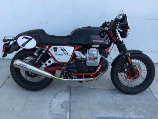 2012 moto guzzi v7 racer for sale in miami florida classified. Black Bedroom Furniture Sets. Home Design Ideas