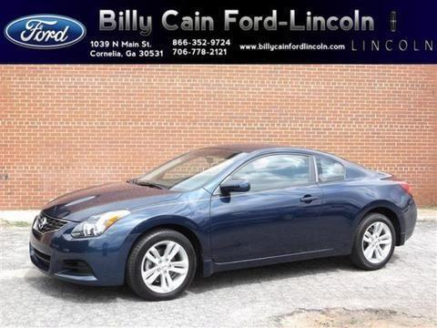 2012 nissan altima 2 door coupe for sale in cornelia georgia classified. Black Bedroom Furniture Sets. Home Design Ideas