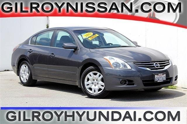 2012 Nissan Altima 4D Sedan 25 S For Sale In Gilroy