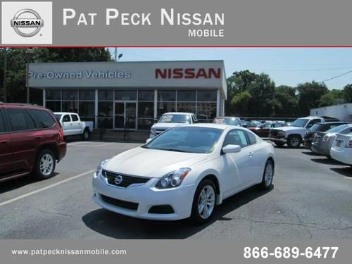 2012 NISSAN Altima Coupe 2dr Cpe I4 CVT 2.5 S