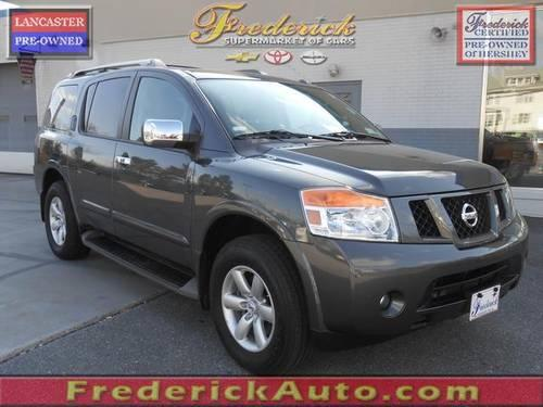 2012 nissan armada 4d sport utility sv for sale in avon pennsylvania classified. Black Bedroom Furniture Sets. Home Design Ideas
