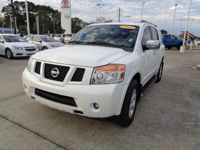 2012 nissan armada platinum 4x2 platinum 4dr suv for sale in lake charles louisiana classified. Black Bedroom Furniture Sets. Home Design Ideas