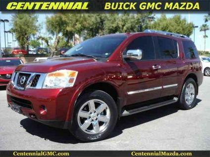 2012 nissan armada platinum for sale in las vegas nevada classified. Black Bedroom Furniture Sets. Home Design Ideas