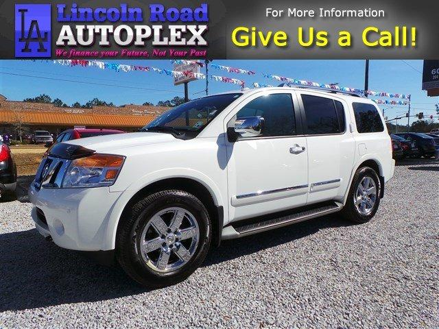 2012 nissan armada platinum hattiesburg ms for sale in hattiesburg mississippi classified. Black Bedroom Furniture Sets. Home Design Ideas