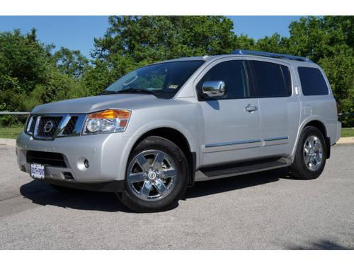 2012 nissan armada suv platinum for sale in austin texas classified