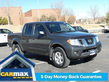 2012 Nissan Frontier S 4x4 S 4dr Crew Cab SWB Pickup 5A