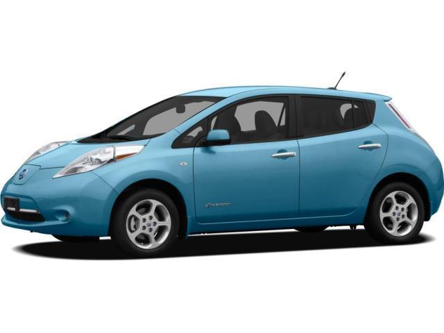 2012 Nissan LEAF SL SL 4dr Hatchback