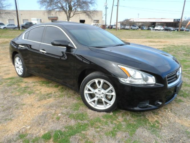2012 nissan maxima s 3 5 sunroof for sale in dallas texas classified. Black Bedroom Furniture Sets. Home Design Ideas
