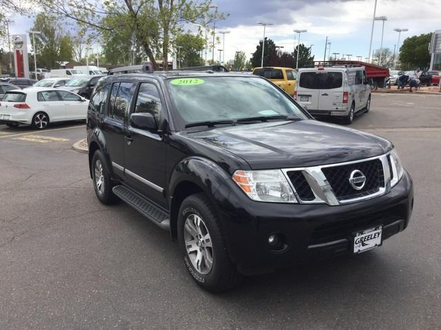 2012 nissan pathfinder s 4x4 s 4dr suv for sale in greeley. Black Bedroom Furniture Sets. Home Design Ideas