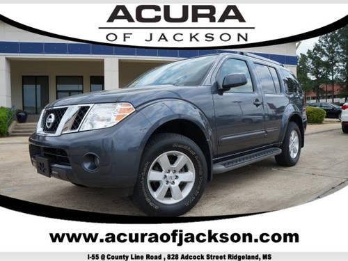 2012 nissan pathfinder suv 4x4 s for sale in ridgeland. Black Bedroom Furniture Sets. Home Design Ideas