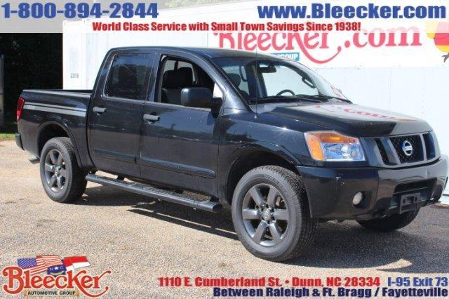 2012 nissan titan s 4x4 s 4dr crew cab swb pickup for sale in dunn north carolina classified. Black Bedroom Furniture Sets. Home Design Ideas