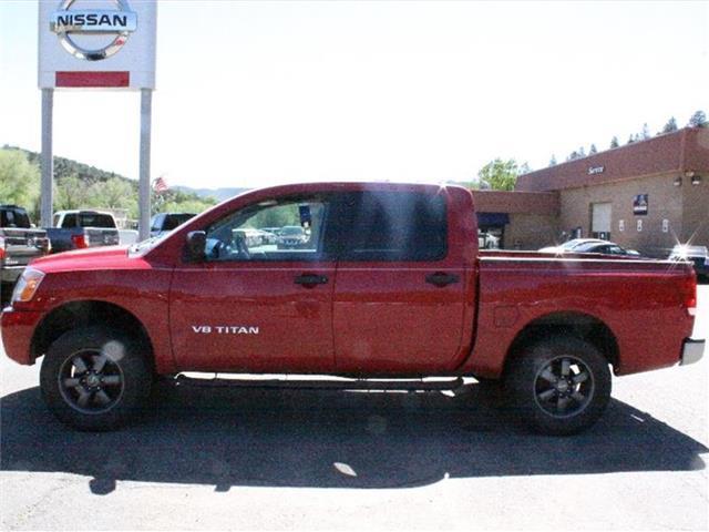 2012 nissan titan s 4x4 s 4dr crew cab swb pickup for sale in durango colorado classified. Black Bedroom Furniture Sets. Home Design Ideas